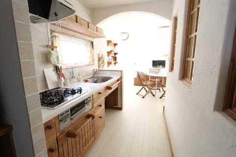 SA邸キッチン